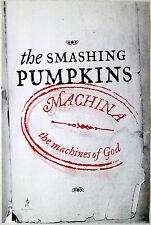 Smashing Pumpkins - Machina/The Machines Of God - Original Rock Promo Poster