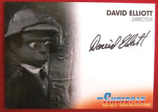 SUPERCAR - DAVID ELLIOTT - DIRECTOR - AUTOGRAPH CARD DE1 Unstoppable Cards 2017