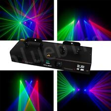 4 Lens 380mW  RGBV disco DMX  dj Laser Light Stage Party Lighting show equipment