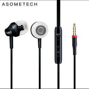 Wired Earbuds Headphones 3.5mm In Ear Earphone Bass Earpiece With Mic Stereo