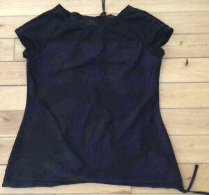 Ladies Next Dri Fit Black Top Size 14