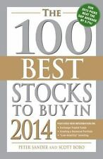 NEW - The 100 Best Stocks to Buy in 2014 by Sander, Peter