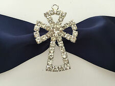 Large diamante  -diamonte-  cross for candle craft