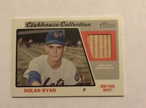 Nolan Ryan 2015 Topps Heritage Clubhouse Collection Relic-Bat