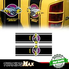 L&R Racing Stripe Truck Car Vinyl Rumble Bee Stickers Decals For 1500 2500 RAM