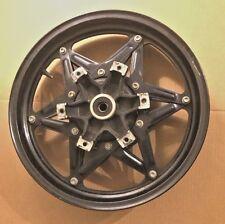 OEM Honda 1985 1986 VF1000R Interceptor Front Wheel 44650-MJ4-610 Black