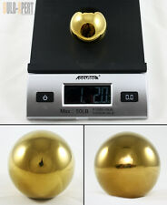 M10 X 1.25 HEAVY WEIGHTED ROUND GOLD STAINLESS STEEL SHIFT KNOB FOR MITSUBISHI