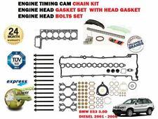 Head Bolt Kit FOR BMW X5 E53 3.0 01-/>06 Diesel E53 M57D30 306D1 306D2 Elring