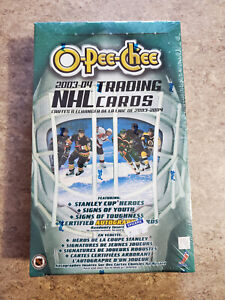 OPC 2003-04  Factory Sealed Box NHL Hockey cards. Certified Autograph Cards?