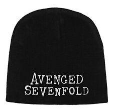 Avenged sevenfold logo wool beanie