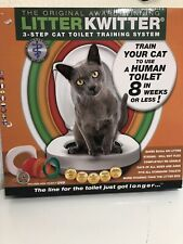 Litter Kwitter Cat Toilet Training System - New in Box!