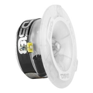 """DS18 PRO-TW1L 1"""" Super Bullet Tweeters 400W 4 Ohm Car Audio TW120 RGB LED Pair"""