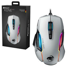 Roccat Kone AIMO Remastered White RGB Gaming Mouse NEW