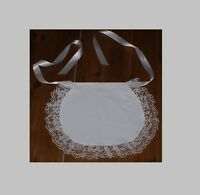 frilly apron maid waif apron fancy dress period costume adults various trims