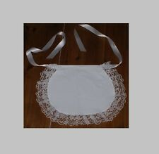 frilly apron maid waif apron fancy dress period costume adults various trims.BN