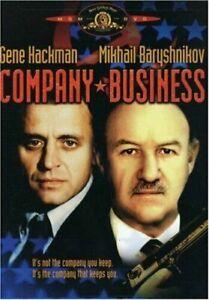 Company Business DVD 1991 Gene Hackman SPY Action Movie