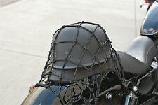 Cargo Net Stretch BLACK Bungee Cords Motorcycle Snowmobile Dirtbike Honda