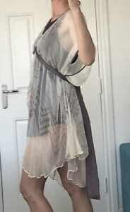 Day Birger Et Mikkelsen Silk Tunic Dress 38 12