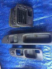 96-00 Honda Civic EK Parts Lot Window Switch,Air Vent, Door Handle Trim Oem JDM