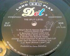 THE SPLIT LEVEL - DIVIDED WE STAND LP / ORIGINAL U.S DOT DLP 25836 PSYCH GURYAN