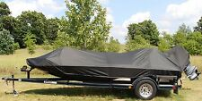 Carver Sun-DURA Boat Cover 16'6 Jon Style Bass Boat O/B MADE IN USA 7YR WNTY