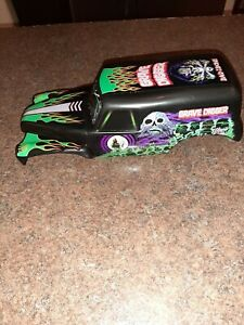 "Spin Master Monster Jam Large Grave Digger RC Body 11.5"" Long with hardware"