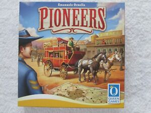 PIONEERS STRATEGY BOARD GAME. MINT CONDITION.