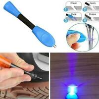 Magic Fix UV Light Repair Tool Liquid Plastic Welding Quick Welder