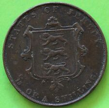 JERSEY 1/13 SHILLING VICTORIA 1861