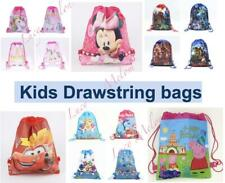 kids bags drawstring backpack girls boys unicorn frozen peppa pig avengers