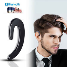 Noise Cancelling Wireless Bluetooth Headset Over-Ear Earphone for Cell Phone