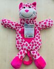 Fun Hot Water Bottle With Cover Pink spotted design