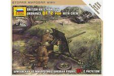 ZVEZDA 6169 1/72 British Anti-tank Gun Ordnance QF 2 pdr