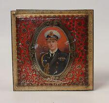 Edward VIII Prince OF Wales Naval Uniform Barringer's Biscuit Tin c.1920