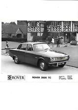 ROVER 2000 TC PRESS PHOTO   'CAR SALE BROCHURE' CONNECTED