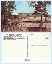The Aquarium Quebec City Canada Building Advertising Postcard - Architecture