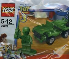 Lego Disney TOY STORY movie set 30071 new poly green brick army man MINIFIG Jeep