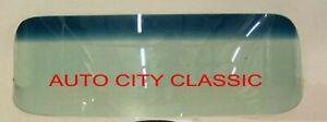 63 64 Studebaker Avanti Hardtop Windshield Glass Green Shade Band