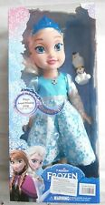 NEW PRINCESS FASHION FROZEN CLASSIC DOLL WITH LIGHT MUSIC 34cm PARTY GIFT TOY