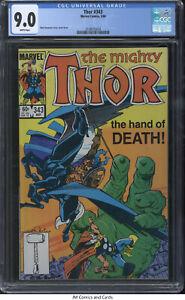 Thor #343 CGC 9.0 1984 - Walt Simonson story, cover & art