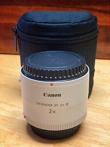 Canon Extender EF 2X III Extender Telephoto Lens (MINT Condition)