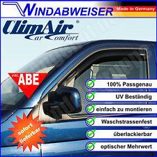 ClimAir Windabweiser schwarz Renault Kangoo KW0/1 FW0/1 Mercedes Citan - 3575D
