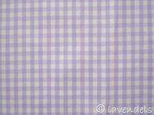 Vichy Karo Stoff Baumwolle ♥ kariert  flieder 0,25x0,3 lila