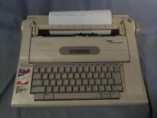 Vtg Smith Corona Lcd Display 75k Word Spell Right Dictionary Typewriter Na3hh