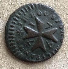 MALTA 1747 1 GRANO SCARCE VERY NICE COIN LM