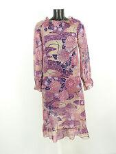 Kookai vestido talla 40/multicolor & como nuevo-moderno (l 2848)
