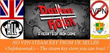 Darkest Hour: A Hearts of Iron Game Steam key NO VPN Region Free UK Seller