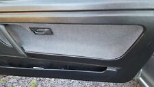 VW SCIROCCO MK 2 GTII DRIVERS SIDE DOOR CARD BLACK VERY NICE