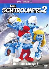 DVD   //   LES  SCHTROUMPFS  2  //   NEUF sous cellophane !