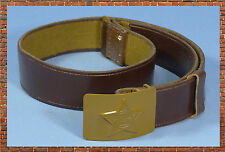 USSR CCCP BELT ORIGINAL  FELDKOPPEL SOVIET UNION RUSSIAN ARMY BELT SIZE 2 110CM